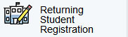 Returning Student Registration Example